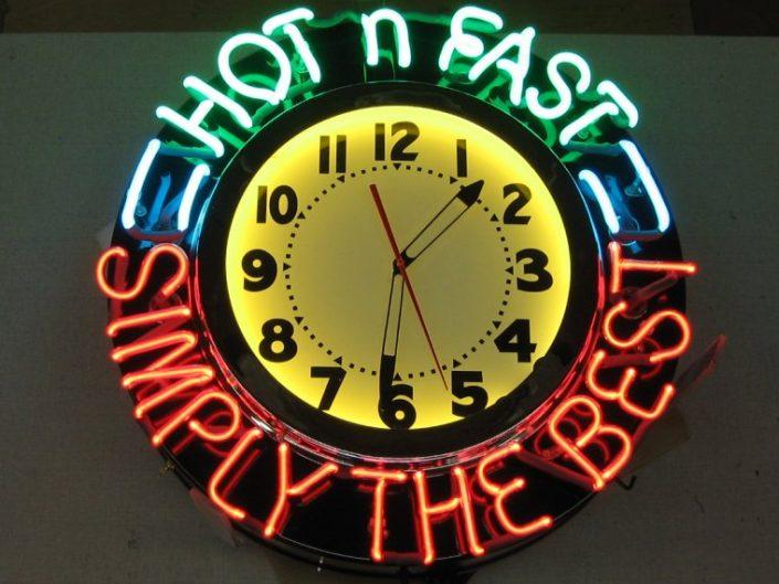 Hot n Fast clock