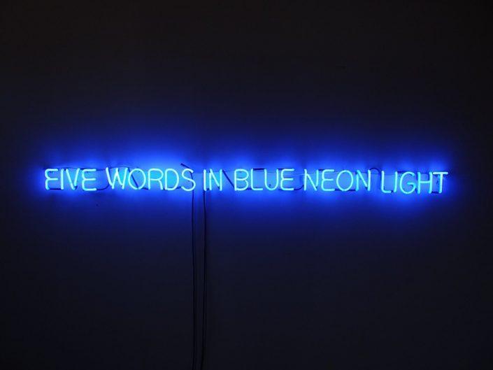 Neon Word Art